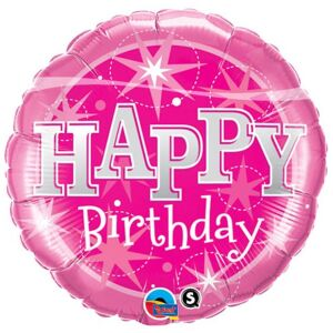Ballon Pink H.Birthday