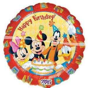 Ballon Mickey Happy Birthday